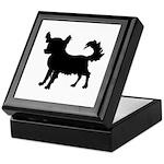 Chihuahua Silhouette Keepsake Box