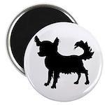 Chihuahua Silhouette Magnet