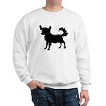 Chihuahua Silhouette Sweatshirt