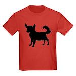 Chihuahua Silhouette Kids Dark T-Shirt