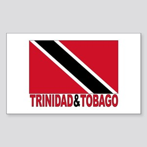 Trinidad And Tobago Rectangle Sticker