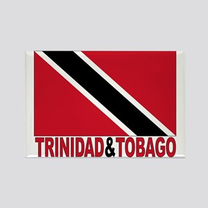 Trinidad And Tobago Rectangle Magnet
