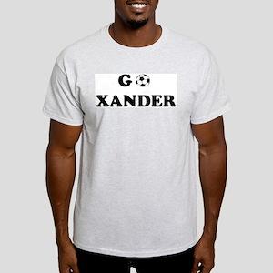 Go XANDER Ash Grey T-Shirt