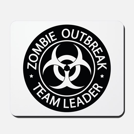 ZO Team Leader Black Mousepad