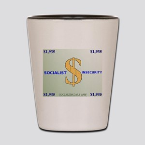 Anti-Socialist logo Shot Glass
