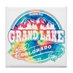 Grand Lake Old Circle Tile Coaster