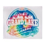 Grand Lake Old Circle Throw Blanket
