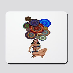 BOHEMIAN GIRL Mousepad