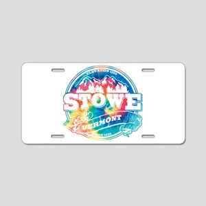 Stowe Old Circle Aluminum License Plate
