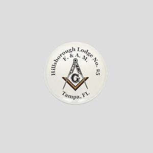 Hillsborough Lodge No. 25 Mini Button