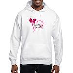 Brooke's Big Heart Men's Hooded Sweatshirt