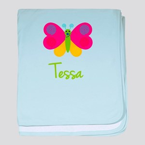 Tessa The Butterfly baby blanket