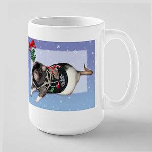Mistletoe Sweater Rattie Large Mug