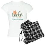 Life Begins At Conception Women's Light Pajamas