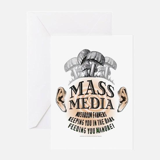 Mass Media Greeting Card