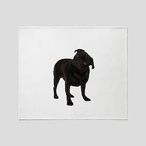 Pugs1 Throw Blanket