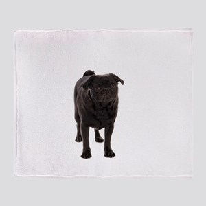 Pug 5 Throw Blanket