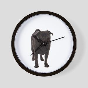Pug 5 Wall Clock