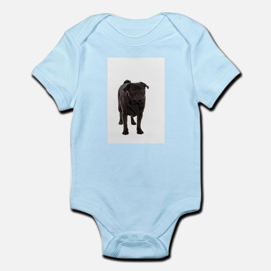 Pug 5 Infant Bodysuit
