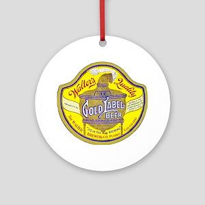 Colorado Beer Label 5 Ornament (Round)