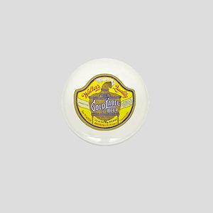 Colorado Beer Label 5 Mini Button