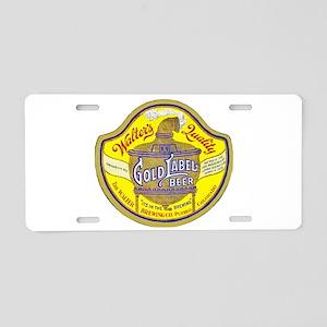 Colorado Beer Label 5 Aluminum License Plate