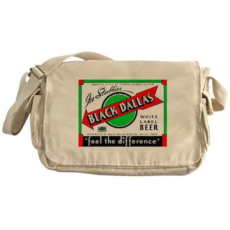 Texas Beer Label 2 Messenger Bag