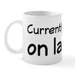 Currently Resting On Laurels Mug