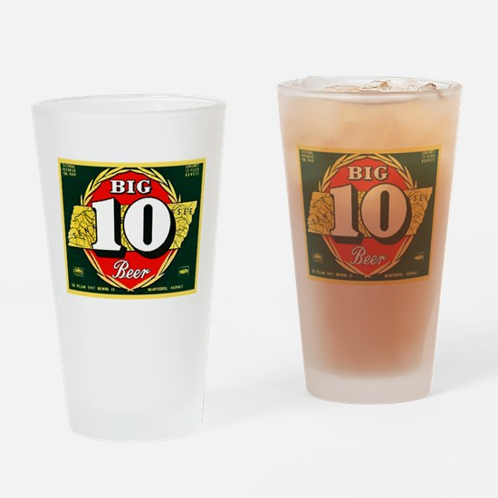 Tennessee Beer Label 1 Drinking Glass