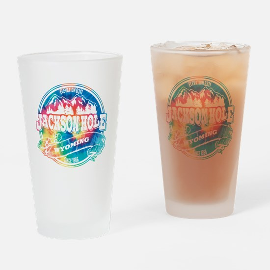 Jackson Hole Old Circle Drinking Glass