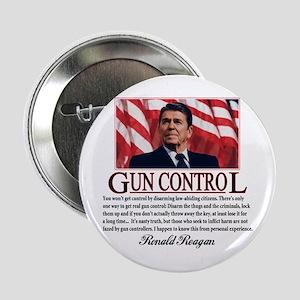 """Gun Control 2.25"""" Button"""