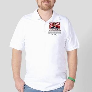 Gun Control Golf Shirt