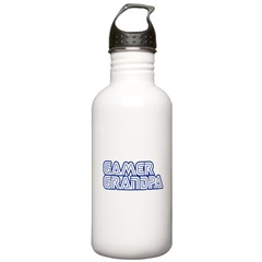 gamer Grandpa Water Bottle