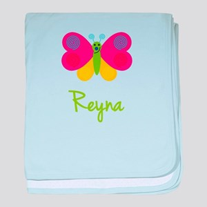 Reyna The Butterfly baby blanket