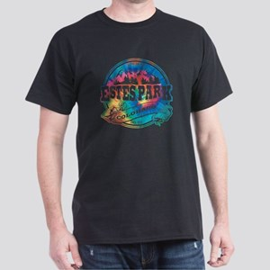 Estes Park Old Circle Dark T-Shirt