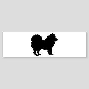 Chow Chow Silhouette Sticker (Bumper)