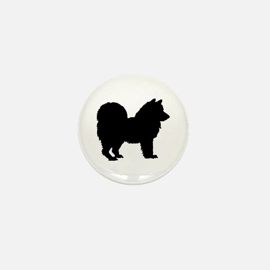 Chow Chow Silhouette Mini Button