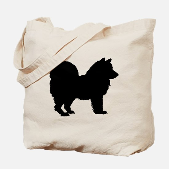 Chow Chow Silhouette Tote Bag