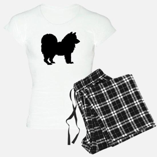 Chow Chow Silhouette Pajamas