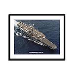USS FORRESTAL Framed Panel Print