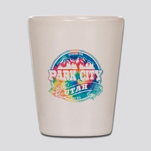 Park City Old Circle Shot Glass