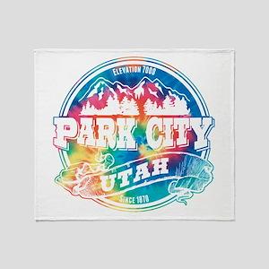 Park City Old Circle Throw Blanket