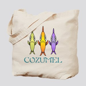 3-Fishes Tote Bag