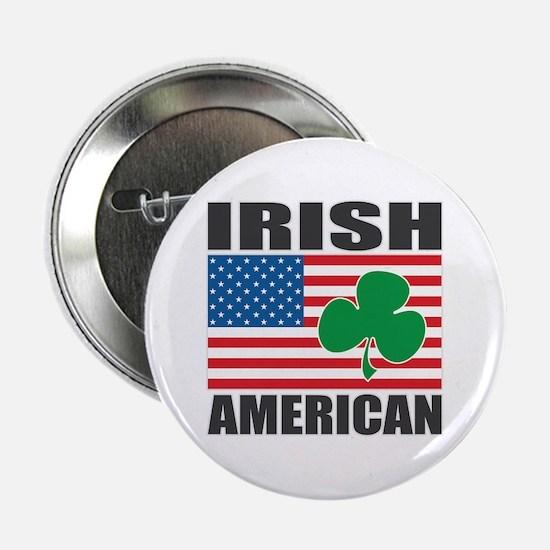 "Irish American Flag 2.25"" Button"