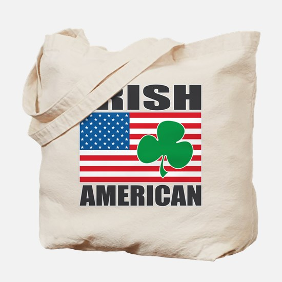 Irish American Flag Tote Bag