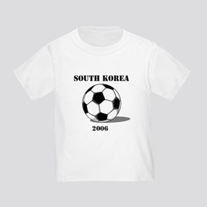 South Korea Soccer 2006 Toddler T-Shirt