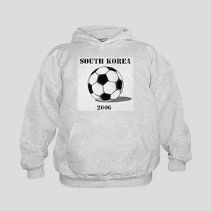 South Korea Soccer 2006 Kids Hoodie