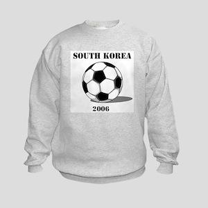 South Korea Soccer 2006 Kids Sweatshirt