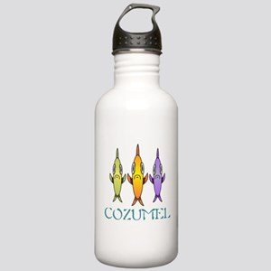 3-Fishes Stainless Water Bottle 1.0L