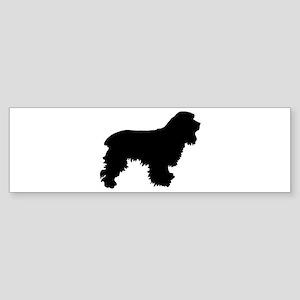 Cocker Spaniel Silhouette Sticker (Bumper)